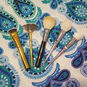 Metallic Makeup Brush Bundle